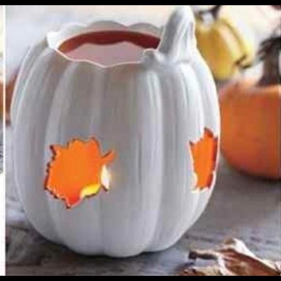 PartyLite Autumn Pumpkin Aroma Melts Warmer